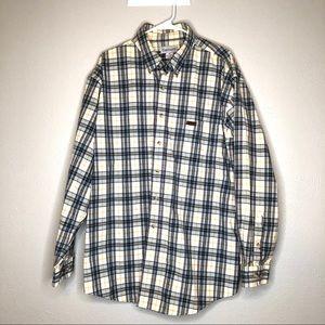Carhartt button down long sleeve shirt men's XL